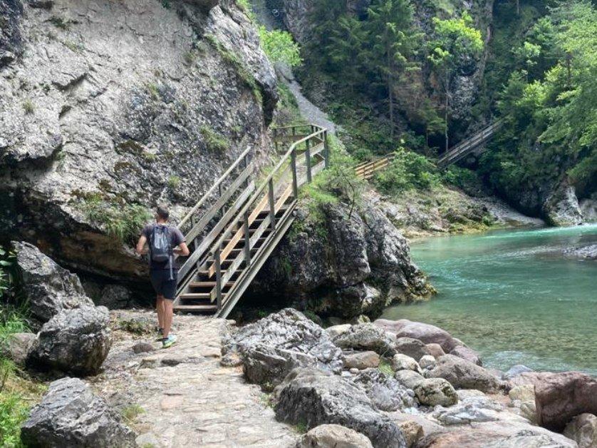 orrido dello slizza escursioni facili trekking per bambini semplici friuli