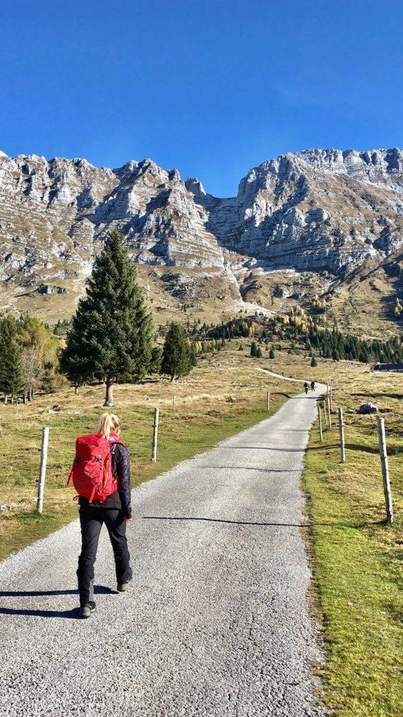 cima di terrarossa escursioni friuli trekking montagna altopiano del montasio