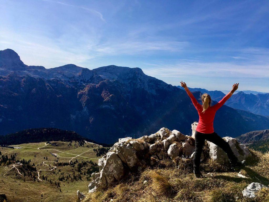 Escursioni Friuli Cima di Terrarossa dal Montasio Trekking Montagna
