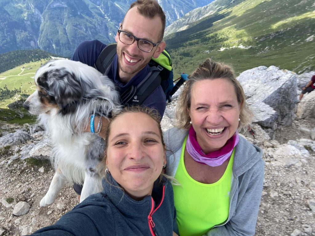 Cima di Terrarossa dal Montasio Trekking Montagna Escursioni Friuli