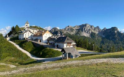 Monte Lussari, il sentiero del Pellegrino