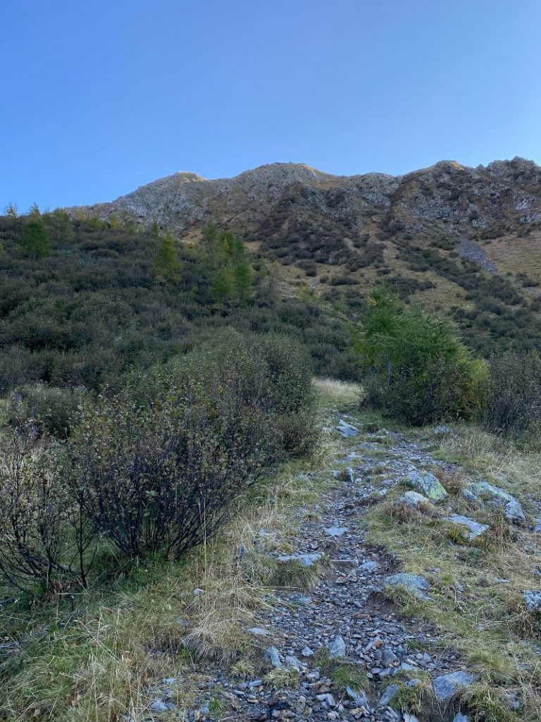 escursioni in montagna in friuli verso il rifugio marinelli