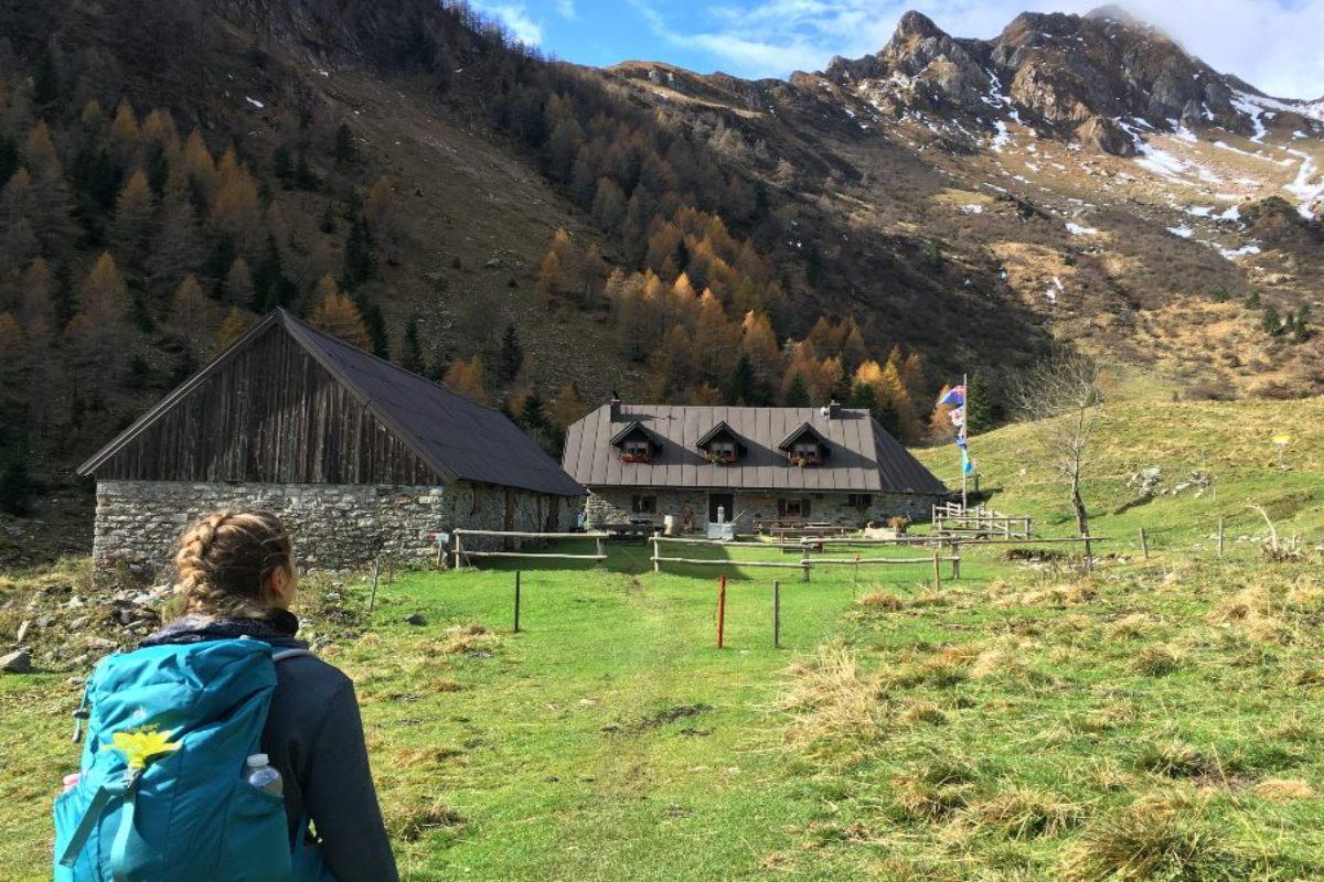 rifugio fabiani malghe carnia centrale trekking facile per bambini