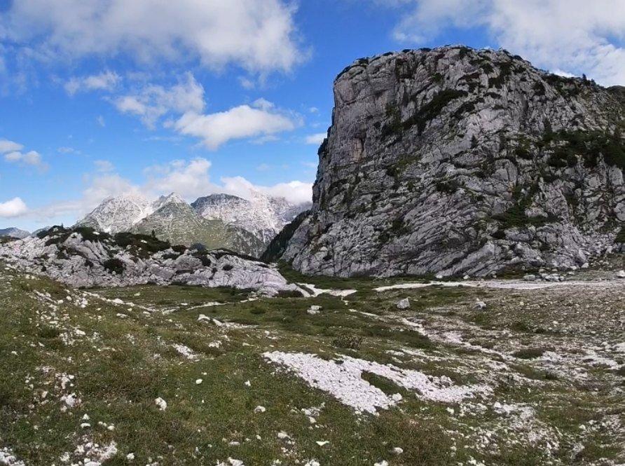 monte robon percorso e mappa itinerari grande guerra in friuli trekking ed escursioni in montagna