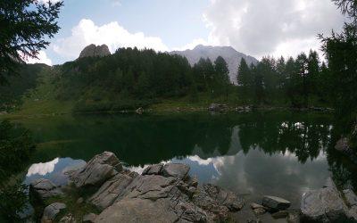 Lago di Bordaglia da Pierabech
