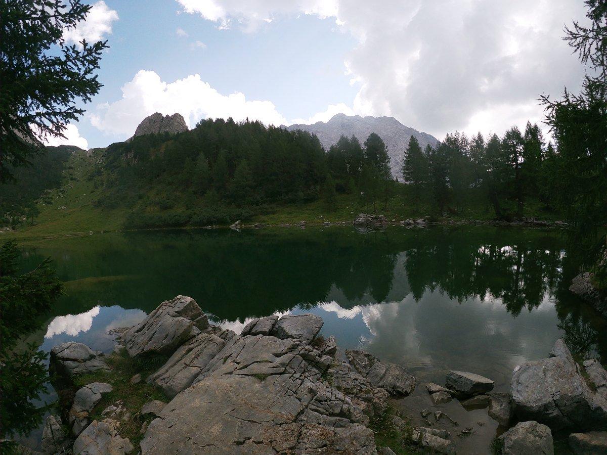 lago di bordaglia escursioni friuli trekking in montagna per bambini