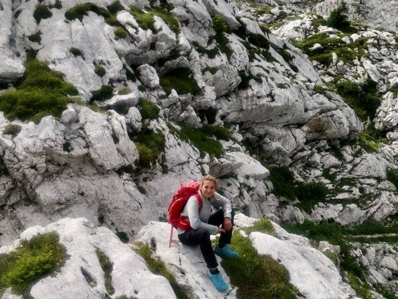 Monte Robon da Sella Nevea trekking escursioni in montagna friuli
