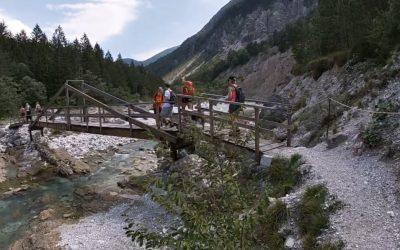 Ta lipa pot: un trekking facile per bambini