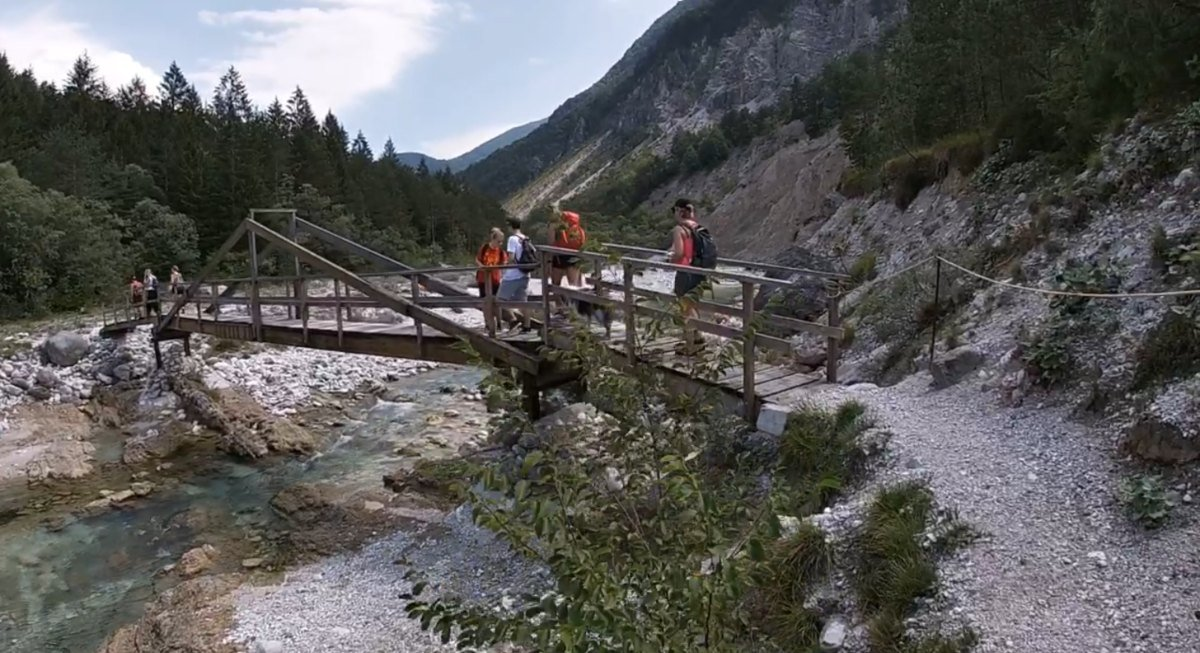 ta lipa pot trekking per bambini nelle prealpi giulie