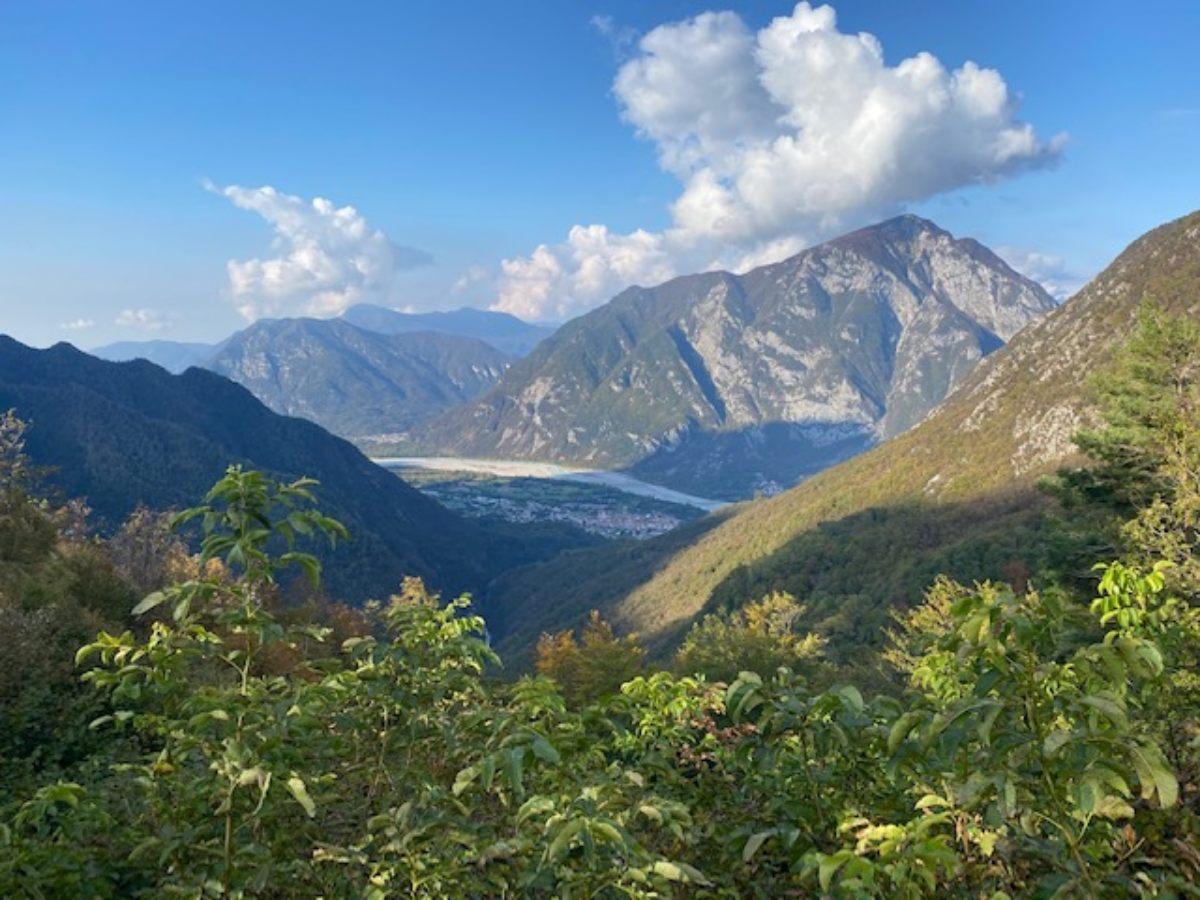 casera ungarina e malga confin trekking in montagna friuli mappa e percorso escursioni friuli