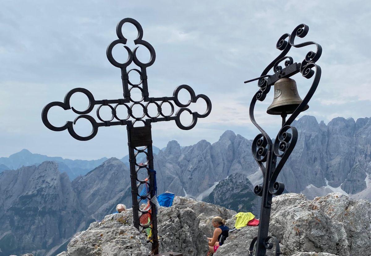 cima del cacciatore dal Lussari trekking escursioni friuli outdoor mappa e percorso