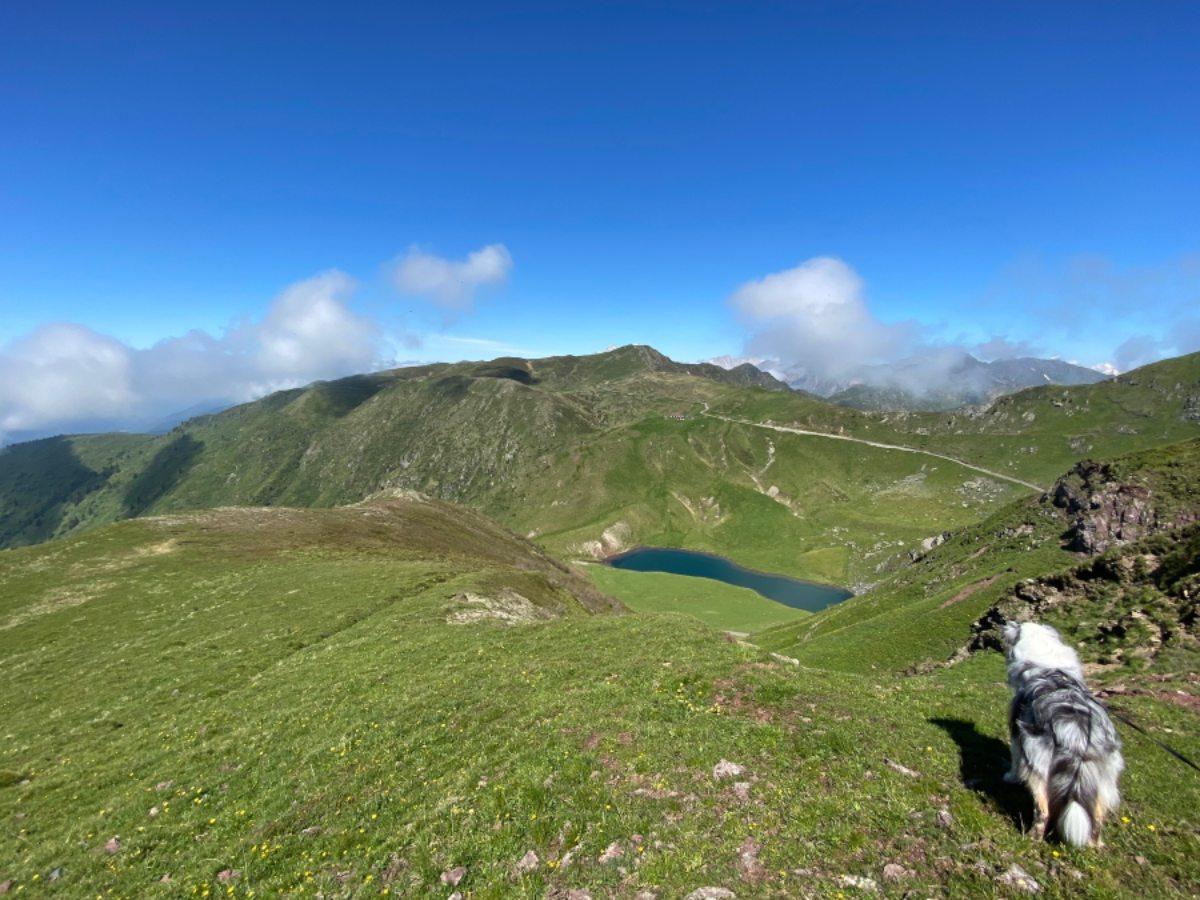 Lago Dimon escursioni in friuli