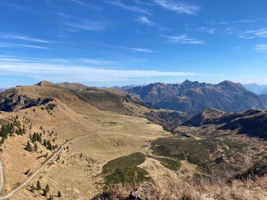 Panorama dal Monte Pieltinis