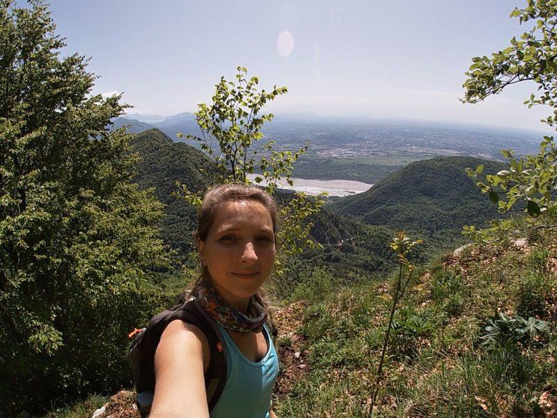 Salendo al Monte Cuar