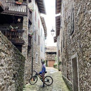 giro in bici a Frisanco