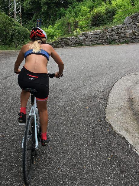 In bicicletta a Clauzetto