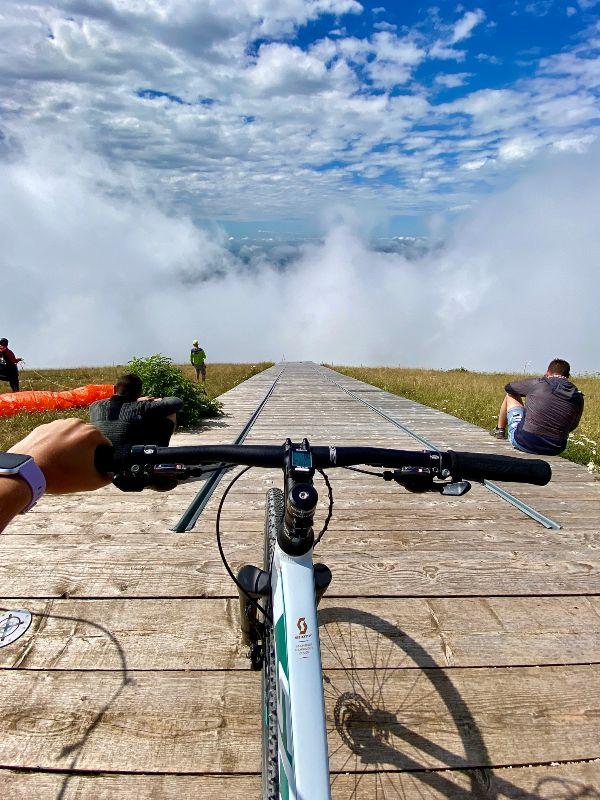 Panorama dal monte Valinis