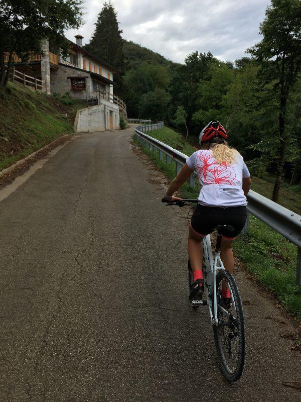 In bicicletta a Malga Valinis