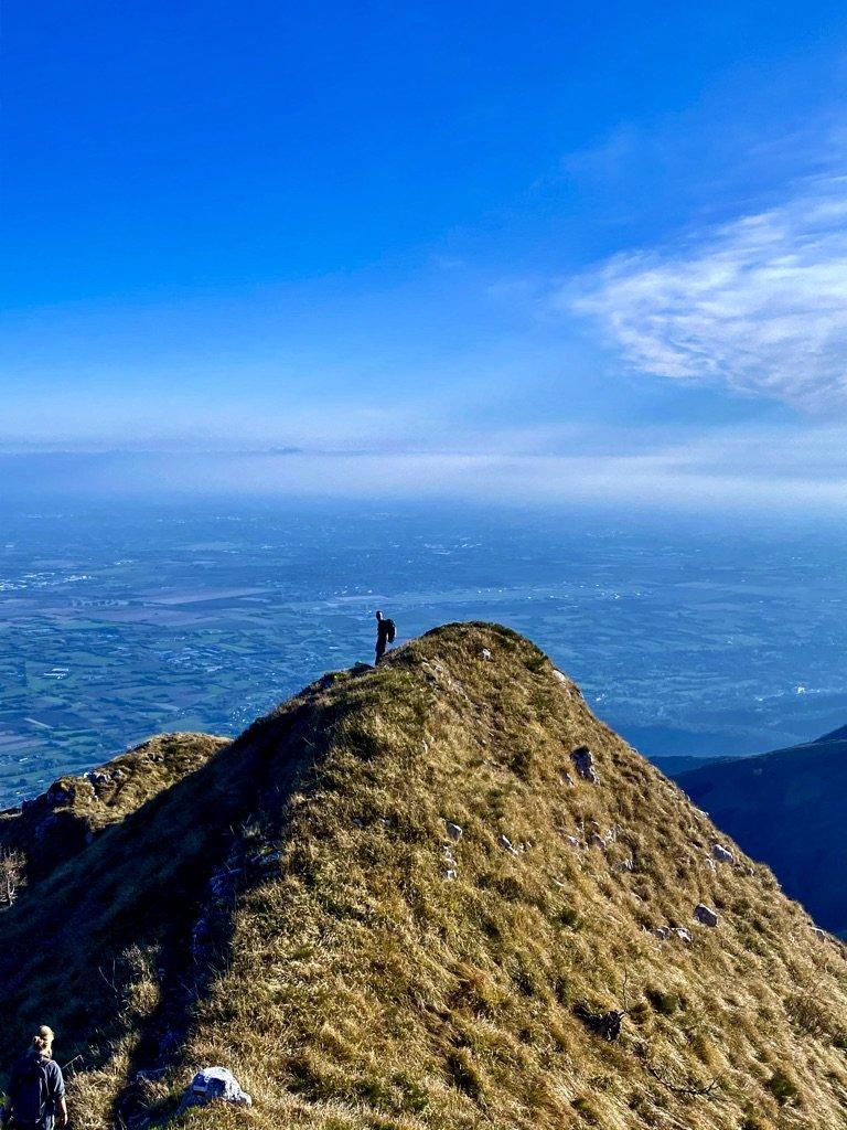 Monte Cjastelat e i suoi panorami