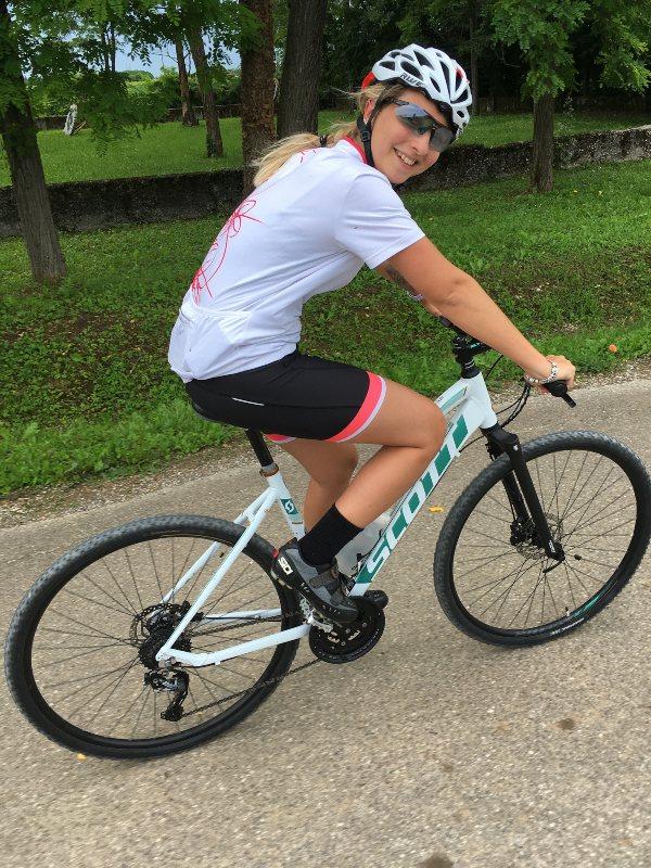 In bicicletta a Casarsa della Delizia