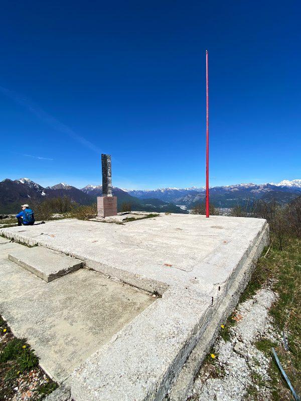 Vista dalla cima del Monte Festa