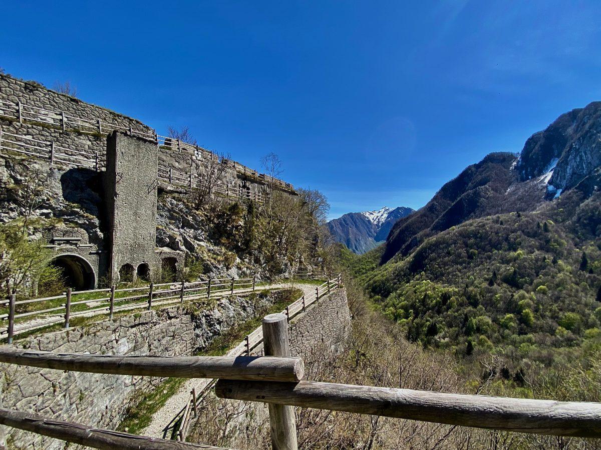 Fortificazioni sul monte Festa
