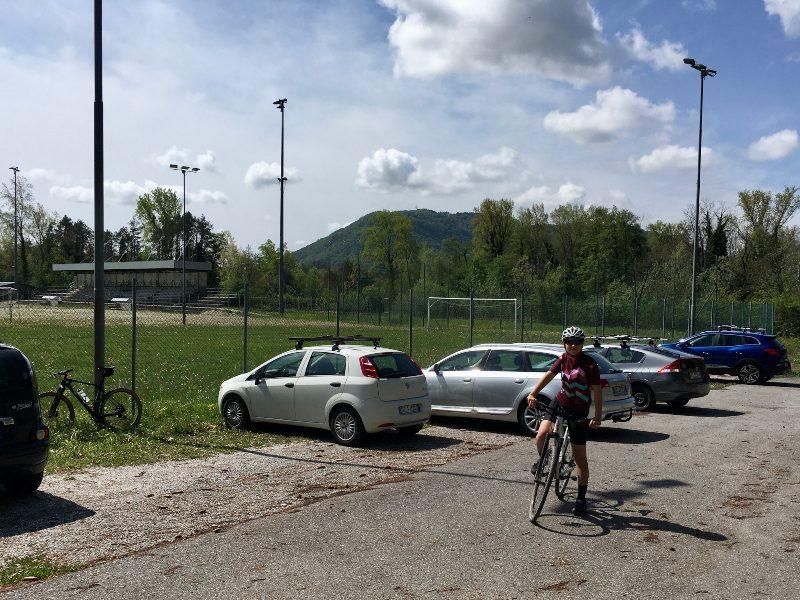 Partenza dal campo sportivo di Cornino