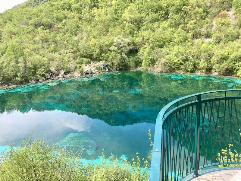 Colori del lago di Cornino