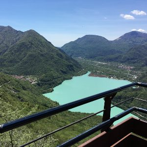 Panorama sul lago di Cavazzo