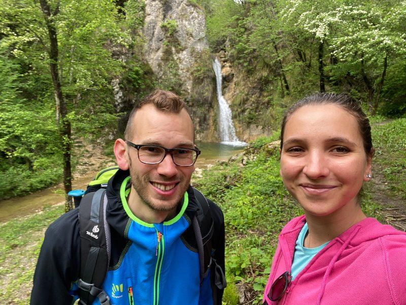 Erik e Virginia di Escursioni Friuli a Pinzano