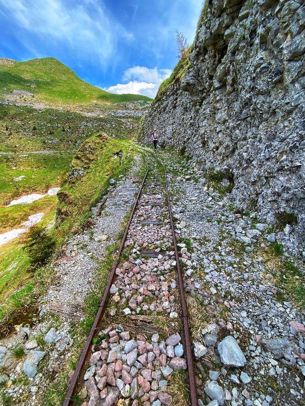 ferrovia in montagna